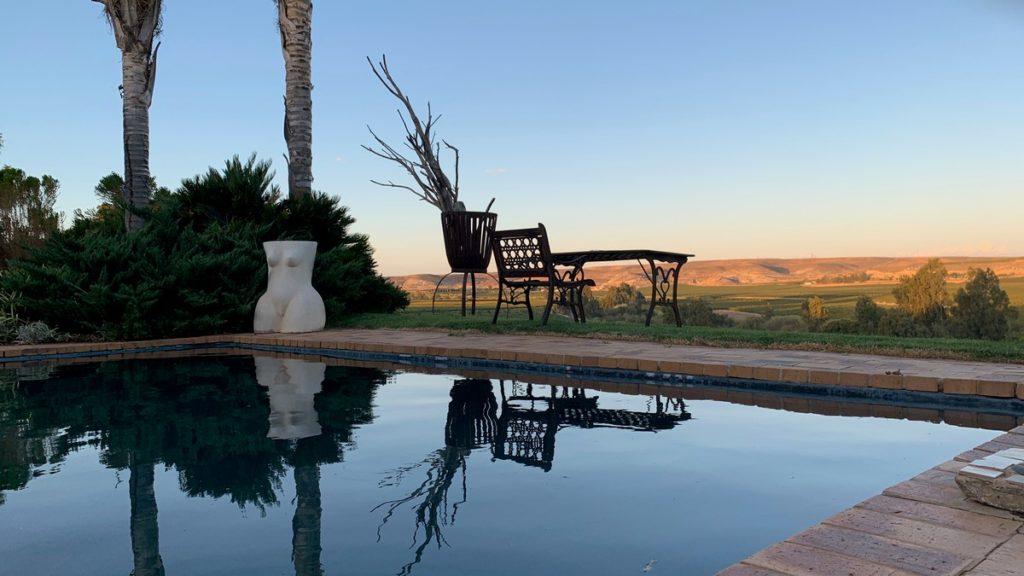 Swimming Pool @ Melkboomsdrift Guest House