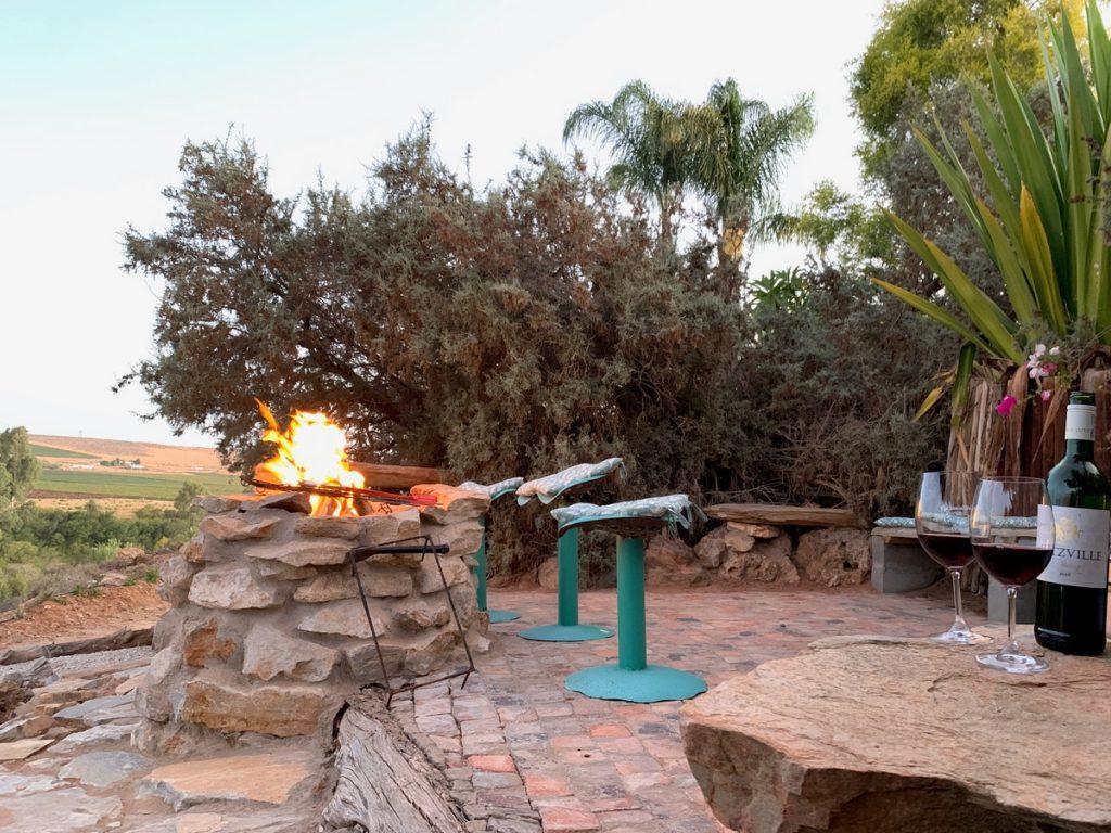 Communal BBQ @ Melkboomsdrift Guest House